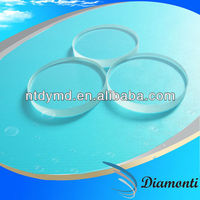 Polished Round Tempered Clear Sight Glass