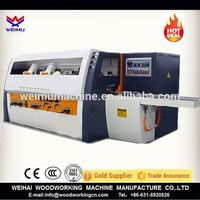 CE certificate four side moulder / wooden cabinet door making machine supplier