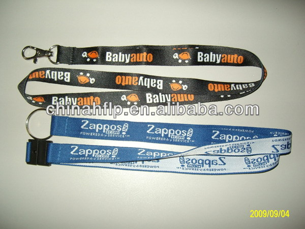 Folded high quality make different lanyard designs