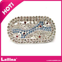 Creative round rhinestone buckle for shoes decoration/wedding invitation /chair sash