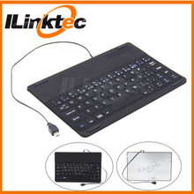 Ultra thin micro usb keyboard OTG keyboard directly used for Samsung Galaxy S4
