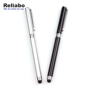 Reliabo 2018 Hot Sale Multi-Fuctional Soft Touch Screen Metal Stylus Pen