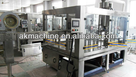 Automatic Bottled Aerated Drink Filling Machine