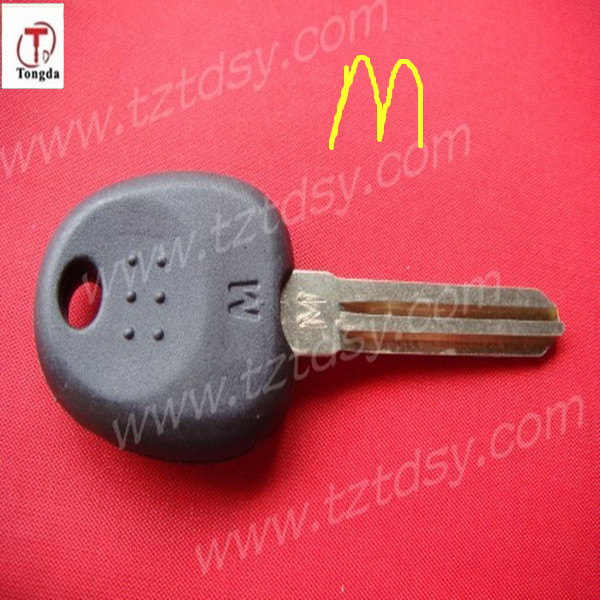 TD car keys ,high quality and competitive for hyundai M transponder key shell/. Elantra key shell