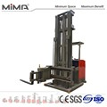 MIMA high density storage with three-way forklift racking