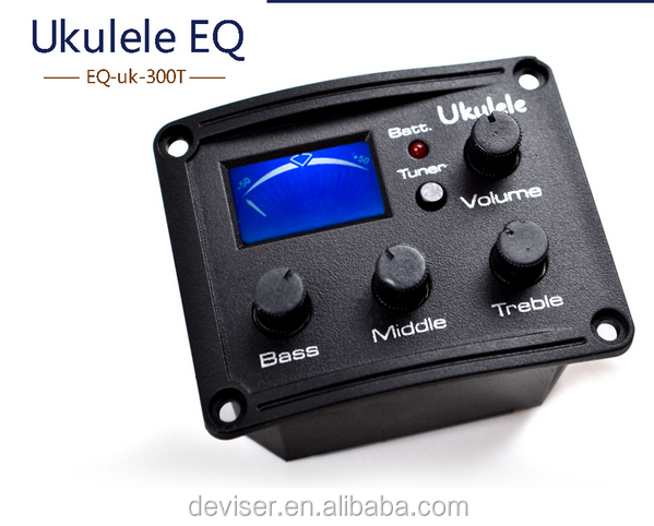 Wholesale guitar Equalizer ,ukulele EQ, bass pickup made in <strong>china</strong> factory