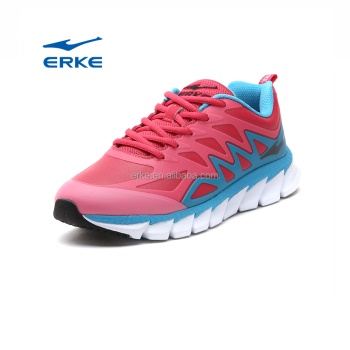 ERKE wholesale china brand fashion PU womens sports shoes running shoes 2017