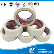 General Purpose off white Masking paper Tape jumbo roll with Normal Temperature Resistance for Indoor Painting