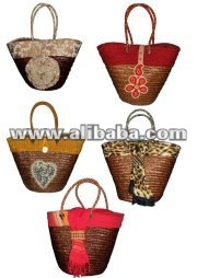 BEST LEATHER BEADED BASKETS