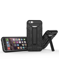 2016 Newest Arrival for iPhone 6/6s Shockproof Armor Case with Kickstand & Card Slot
