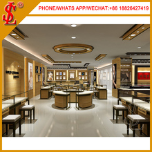 Indian Style Gold Store Fixture Showcase For Jewellers Display Furniture