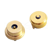 Manufacturer power spring loaded 2 pin electrical pogo pin magnetic connector