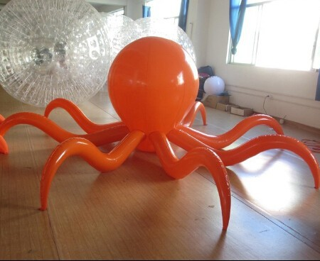 2015 Made in China high quality lovely giant inflatable octopus/inflatable octopus cartoon toy