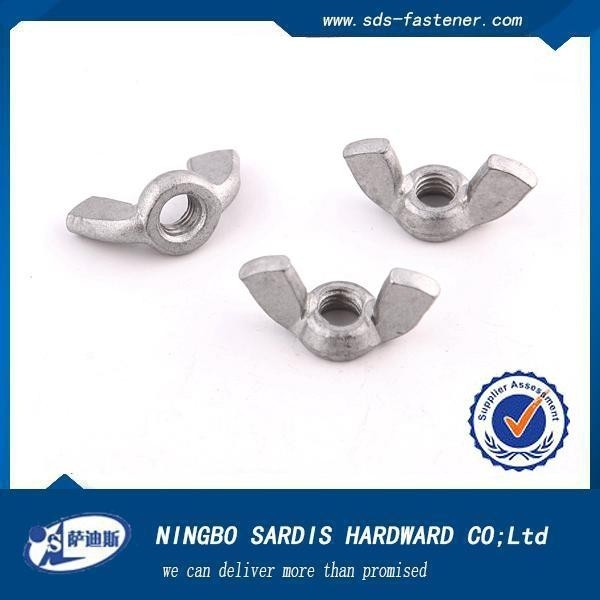 Fasteners Supply formwork accessories casting zinc plated wing nut