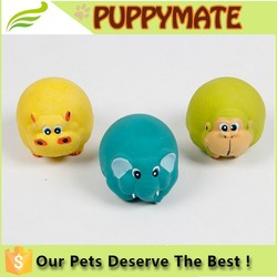 Dog and cat chew toys, rubber voice pet toys, cartoon sound toys for pets