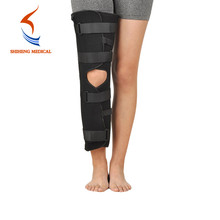 Medical leg guard knee brace support rehabilitation equipment
