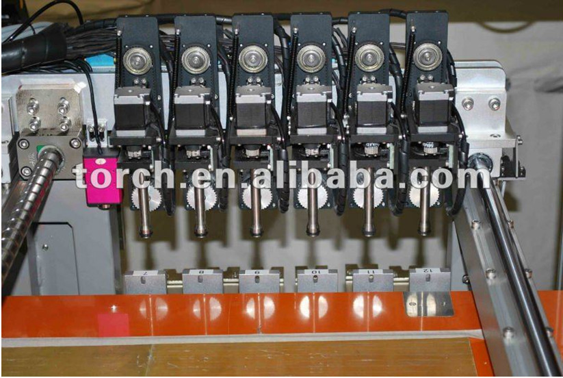 6 Head SMT Pick and Place Machine / LED Lights PCB Assemble Line LED660 (Torch)