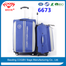 COQBV cheap high quality luggage with removable wheels