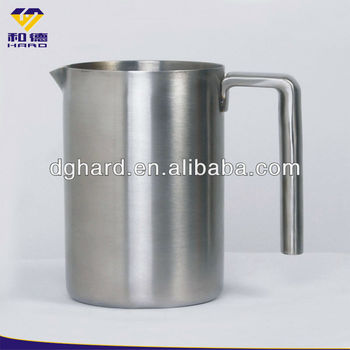 1L Custom Large Stainless Steel Milk Cups Tea Cups