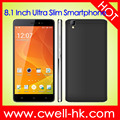 5.5 Inch IPS Touch Screen 8.1mm Ultra Slim Design smartphone android