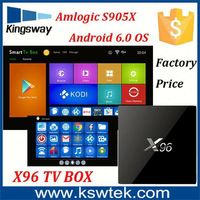 Factory price X96 quad core full movies youtube x96 android tv box better than mx3g tv box