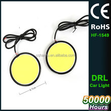 Slim COB LED DRL Daylight Driving Daytime Running Light for All Vehicles with 12V