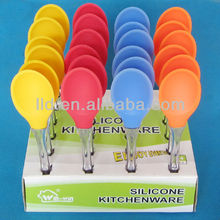 130083 Colorrful Silicone Christmas Waxing Spatula