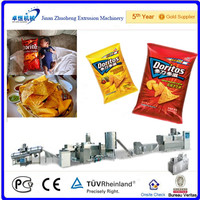 corn crisps chips processing machines