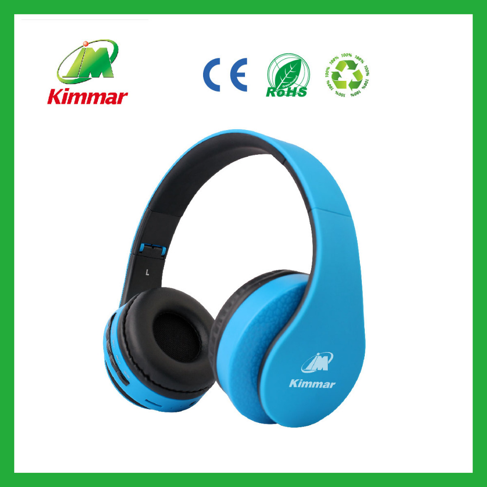 new product 2016 professional foldable wireless headphone with memory card