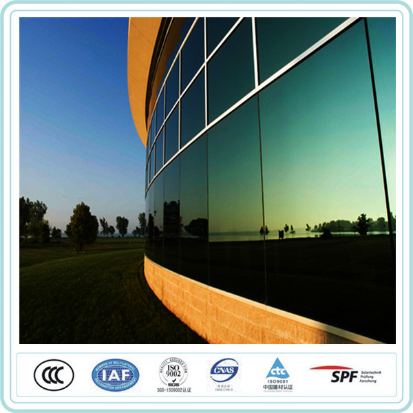 High quality 8mm low e tinted colored tempered glass price in the philippines