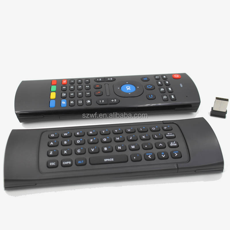 Buy windows media player remote control from trusted windows media newest dual side design mx3 fly air mouse for androoid media player android remote control sciox Gallery