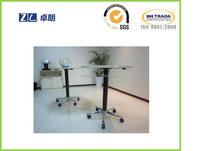 Ease of use hydraulic height adjustment table for coffee