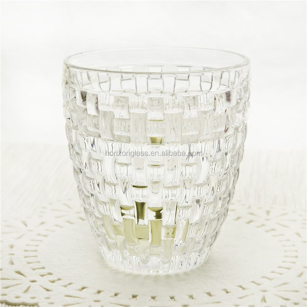 Cheap small drinking glass Tea cups