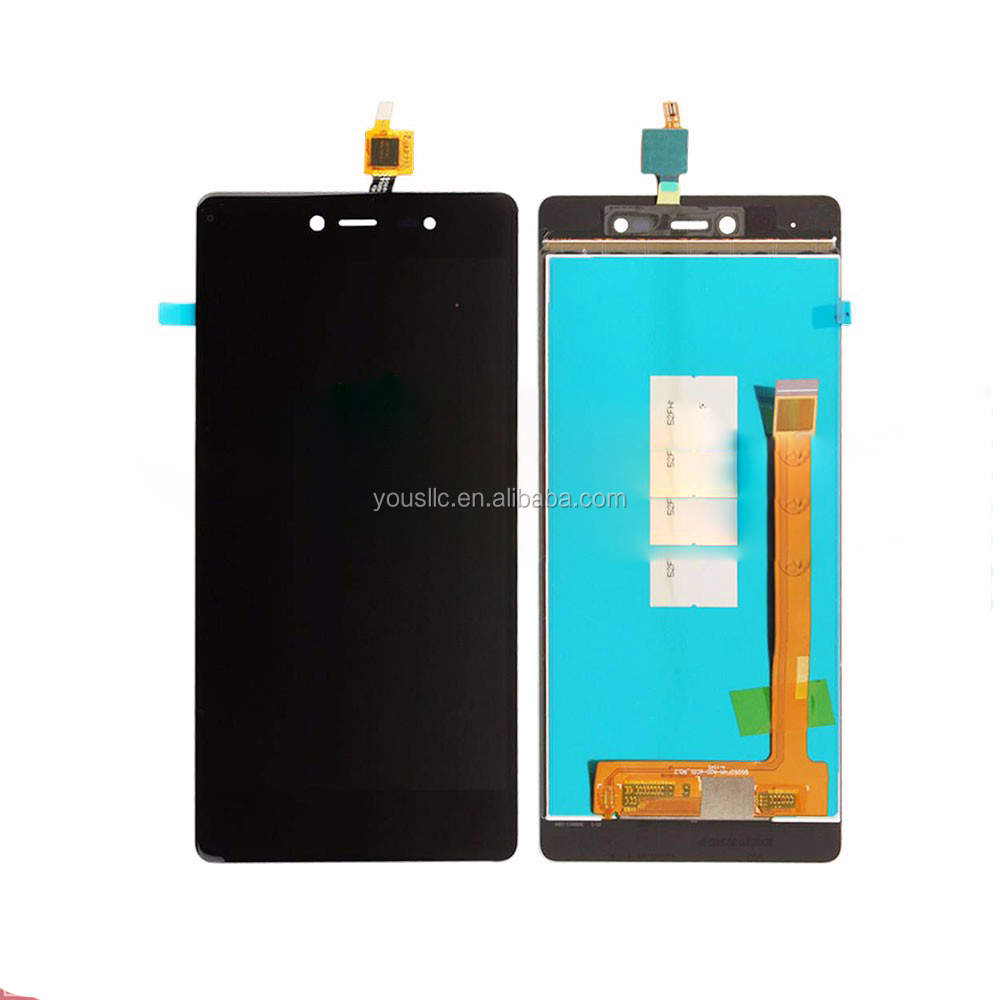 Replacement Mobile Phone Parts Full LCD Complete LCD Touch Screen Digitizer Assembly For Wiko Fever 4G