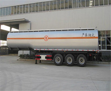 Winsense 3 Axle Semi Trailer Mounted Fuel Tanks, Fuel Transport Trailers