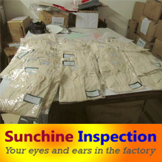 Garment Inspection Service in China / India / Indonesia / Vietnam / Thailand