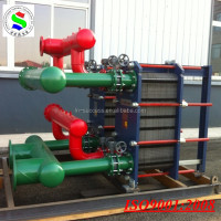 plate heat exchanger water chilling unit