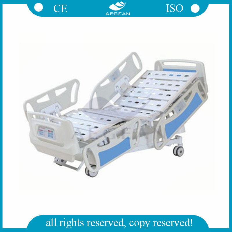 AG-BY008 CE& ISO qualified home care five function electric hospital bed