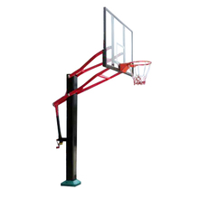 Outdoor Inground Height Adjustable Basketball Stand for sale
