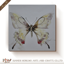 New Designs Butterfly Oil Painting On Canvas Art For Living Room