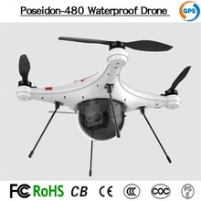 Poseidon-480 the most advanced unmanned aerial vehicle waterproof fishing drone waterproof