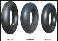 wholesale 300/325-17/18 motorcycle natural/butyl rubber inner tube