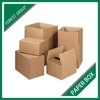 Custom Made Recyclable Standard Corrugated Paper Export Outer Carton Box