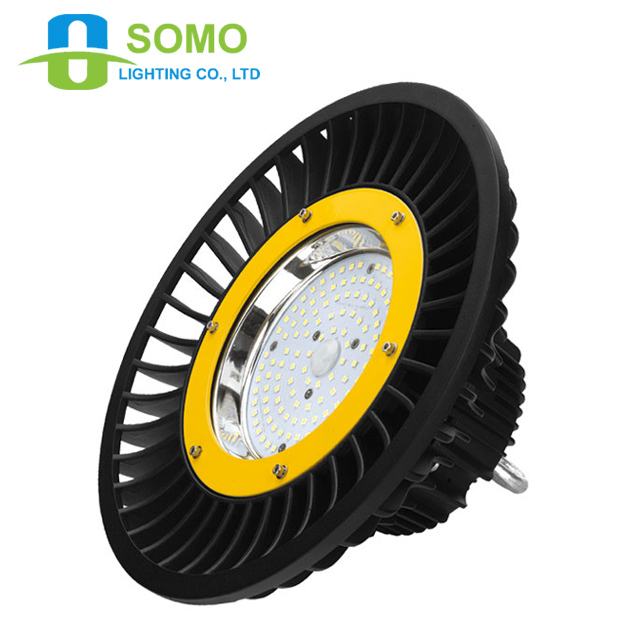 100W UFO LEDHigh Bay Industrial Light IP65 waterproof Meanwell Driver 5years warranty SAA/ETL/DLC/EMC/CE Approved