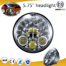 5.75 inch LED Headlight Assembly for Harley Motorcycle High / Low Beam Headlamps