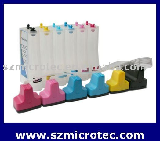 Continuous Ink Supply System for HP Photosmart 8250/ 8230/ 8238/ 3310/ 3210/C5180/ C6180/ D7160/ D7460