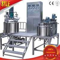 1300L Automatic Shampoo blending tank ,Shampoo and Liquid Soap &oil and detergent Production line