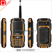 Walkie-talkie cheap bar phone with dustproof shockproof rugged body for Miner Security staff port and wharf