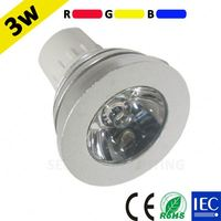 CE RoHS IEC TUV approval 1pcs 3w high power led chip spotlight led swimming pool rgb