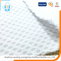 Huzhou manufacturer wicking dry fit athletic mesh sport fabric